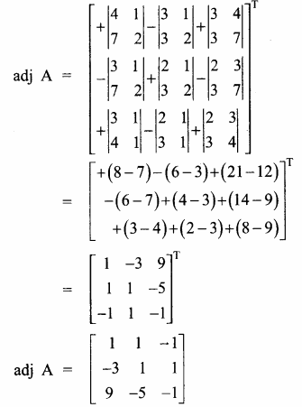 Samacheer Kalvi 12th Maths Guide Chapter 1 அணிகள் மற்றும் அணிக்கோவைகளின் பயன்பாடுகள் Ex 1.1 10.1