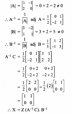 Samacheer Kalvi 12th Maths Guide Chapter 1 அணிகள் மற்றும் அணிக்கோவைகளின் பயன்பாடுகள் Ex 1.1 40.1