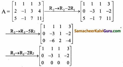 Samacheer Kalvi 12th Maths Guide Chapter 1 அணிகள் மற்றும் அணிக்கோவைகளின் பயன்பாடுகள் Ex 1.2 10