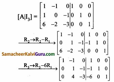 Samacheer Kalvi 12th Maths Guide Chapter 1 அணிகள் மற்றும் அணிக்கோவைகளின் பயன்பாடுகள் Ex 1.2 18