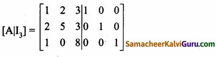 Samacheer Kalvi 12th Maths Guide Chapter 1 அணிகள் மற்றும் அணிக்கோவைகளின் பயன்பாடுகள் Ex 1.2 20