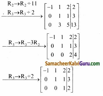 Samacheer Kalvi 12th Maths Guide Chapter 1 அணிகள் மற்றும் அணிக்கோவைகளின் பயன்பாடுகள் Ex 1.5 51