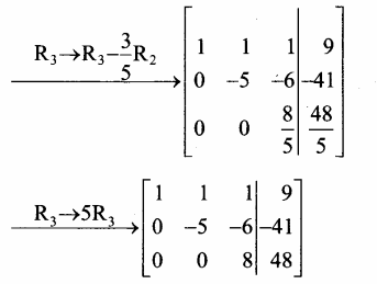 Samacheer Kalvi 12th Maths Guide Chapter 1 அணிகள் மற்றும் அணிக்கோவைகளின் பயன்பாடுகள் Ex 1.5 57