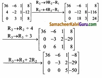 Samacheer Kalvi 12th Maths Guide Chapter 1 அணிகள் மற்றும் அணிக்கோவைகளின் பயன்பாடுகள் Ex 1.5 60.8