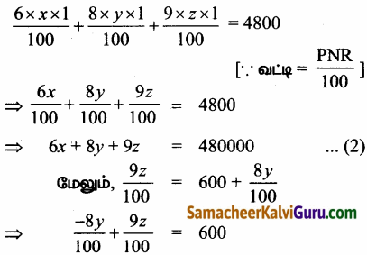 Samacheer Kalvi 12th Maths Guide Chapter 1 அணிகள் மற்றும் அணிக்கோவைகளின் பயன்பாடுகள் Ex 1.5 60