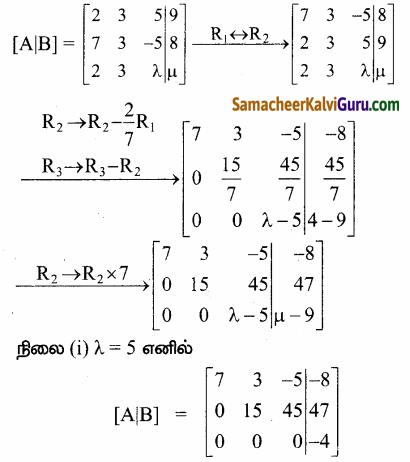 Samacheer Kalvi 12th Maths Guide Chapter 1 அணிகள் மற்றும் அணிக்கோவைகளின் பயன்பாடுகள் Ex 1.6 85