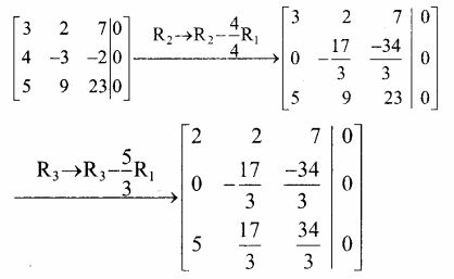Samacheer Kalvi 12th Maths Guide Chapter 1 அணிகள் மற்றும் அணிக்கோவைகளின் பயன்பாடுகள் Ex 1.7 1