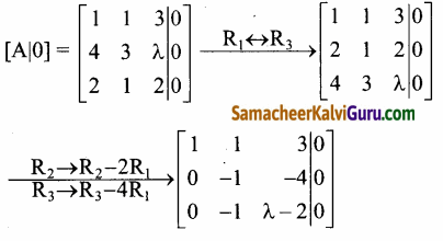 Samacheer Kalvi 12th Maths Guide Chapter 1 அணிகள் மற்றும் அணிக்கோவைகளின் பயன்பாடுகள் Ex 1.7 34