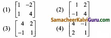 Samacheer Kalvi 12th Maths Guide Chapter 1 அணிகள் மற்றும் அணிக்கோவைகளின் பயன்பாடுகள் Ex 1.8 17