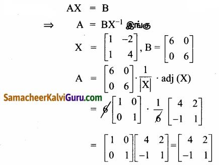 Samacheer Kalvi 12th Maths Guide Chapter 1 அணிகள் மற்றும் அணிக்கோவைகளின் பயன்பாடுகள் Ex 1.8 18