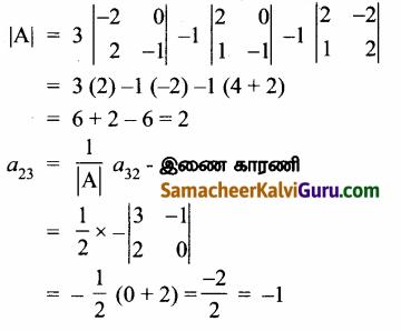 Samacheer Kalvi 12th Maths Guide Chapter 1 அணிகள் மற்றும் அணிக்கோவைகளின் பயன்பாடுகள் Ex 1.8 22