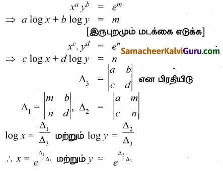 Samacheer Kalvi 12th Maths Guide Chapter 1 அணிகள் மற்றும் அணிக்கோவைகளின் பயன்பாடுகள் Ex 1.8 63