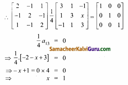 Samacheer Kalvi 12th Maths Guide Chapter 1 அணிகள் மற்றும் அணிக்கோவைகளின் பயன்பாடுகள் Ex 1.8 76