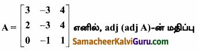 Samacheer Kalvi 12th Maths Guide Chapter 1 அணிகள் மற்றும் அணிக்கோவைகளின் பயன்பாடுகள் Ex 1.8 77
