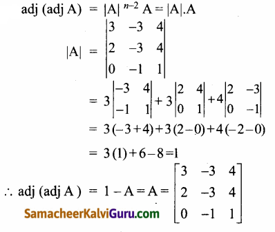 Samacheer Kalvi 12th Maths Guide Chapter 1 அணிகள் மற்றும் அணிக்கோவைகளின் பயன்பாடுகள் Ex 1.8 90