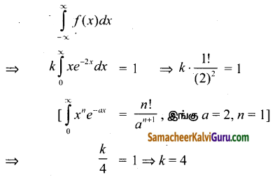 Samacheer Kalvi 12th Maths Guide Chapter 11 நிகழ்தகவு பரவல்கள் Ex 11.3 1