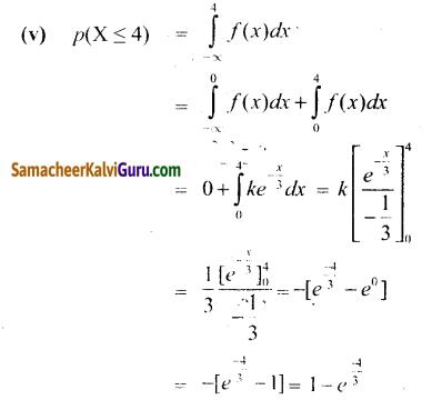 Samacheer Kalvi 12th Maths Guide Chapter 11 நிகழ்தகவு பரவல்கள் Ex 11.3 11