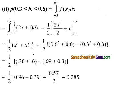 Samacheer Kalvi 12th Maths Guide Chapter 11 நிகழ்தகவு பரவல்கள் Ex 11.3 16