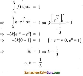 Samacheer Kalvi 12th Maths Guide Chapter 11 நிகழ்தகவு பரவல்கள் Ex 11.3 8