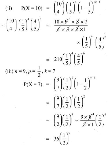 Samacheer Kalvi 12th Maths Guide Chapter 11 நிகழ்தகவு பரவல்கள் Ex 11.5 2