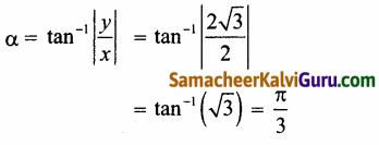 Samacheer Kalvi 12th Maths Guide Chapter 2 கலப்பு எண்கள் Ex 2.7 1
