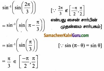 Samacheer Kalvi 12th Maths Guide Chapter 4 நேர்மாறு முக்கோணவியல் சார்புகள் Ex 4.1 27