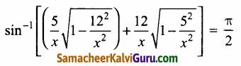 Samacheer Kalvi 12th Maths Guide Chapter 4 நேர்மாறு முக்கோணவியல் சார்புகள் Ex 4.5 35