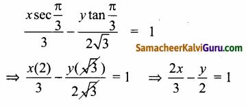 Samacheer Kalvi 12th Maths Guide Chapter 5 இரு பரிமாண பகுமுறை வடிவியல் – II Ex 5.4 30
