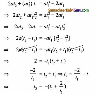 Samacheer Kalvi 12th Maths Guide Chapter 5 இரு பரிமாண பகுமுறை வடிவியல் – II Ex 5.4 45.2