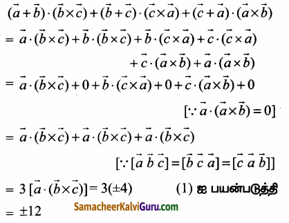 Samacheer Kalvi 12th Maths Guide Chapter 6 வெக்டர் இயற்கணிதத்தின் பயன்பாடுகள் Ex 6.2 20