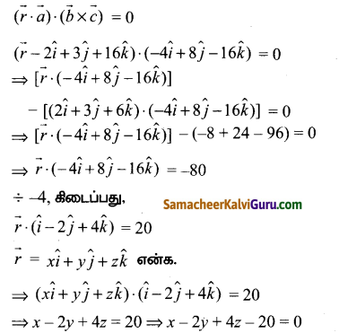 Samacheer Kalvi 12th Maths Guide Chapter 6 வெக்டர் இயற்கணிதத்தின் பயன்பாடுகள் Ex 6.7 1