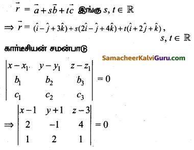 Samacheer Kalvi 12th Maths Guide Chapter 6 வெக்டர் இயற்கணிதத்தின் பயன்பாடுகள் Ex 6.7 6