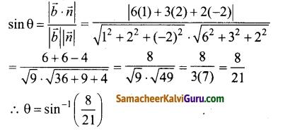 Samacheer Kalvi 12th Maths Guide Chapter 6 வெக்டர் இயற்கணிதத்தின் பயன்பாடுகள் Ex 6.9 2