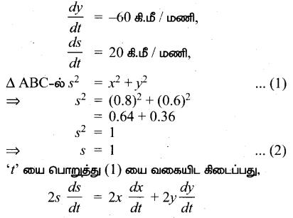 Samacheer Kalvi 12th Maths Guide Chapter 7 வகை நுண்கணிதத்தின் பயன்பாடுகள் Ex 7.1 13