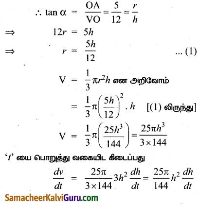 Samacheer Kalvi 12th Maths Guide Chapter 7 வகை நுண்கணிதத்தின் பயன்பாடுகள் Ex 7.1 7