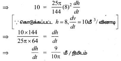 Samacheer Kalvi 12th Maths Guide Chapter 7 வகை நுண்கணிதத்தின் பயன்பாடுகள் Ex 7.1 8