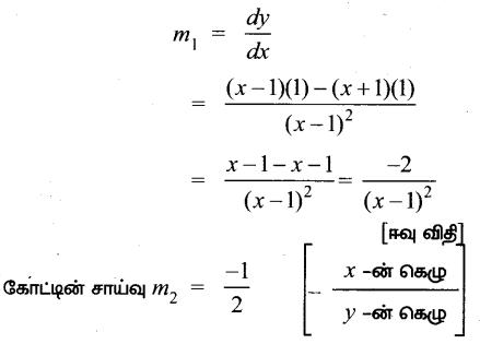 Samacheer Kalvi 12th Maths Guide Chapter 7 வகை நுண்கணிதத்தின் பயன்பாடுகள் Ex 7.2 13