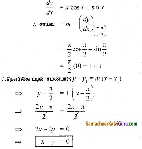 Samacheer Kalvi 12th Maths Guide Chapter 7 வகை நுண்கணிதத்தின் பயன்பாடுகள் Ex 7.2 7
