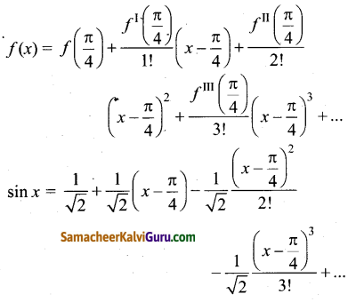 Samacheer Kalvi 12th Maths Guide Chapter 7 வகை நுண்கணிதத்தின் பயன்பாடுகள் Ex 7.4 9
