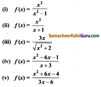 Samacheer Kalvi 12th Maths Guide Chapter 7 வகை நுண்கணிதத்தின் பயன்பாடுகள் Ex 7.9 1