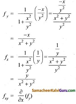 Samacheer Kalvi 12th Maths Guide Chapter 8 வகையீடுகள் மற்றும் பகுதி வகைக்கெழுக்கள் Ex 8.4 6