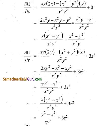Samacheer Kalvi 12th Maths Guide Chapter 8 வகையீடுகள் மற்றும் பகுதி வகைக்கெழுக்கள் Ex 8.4 8