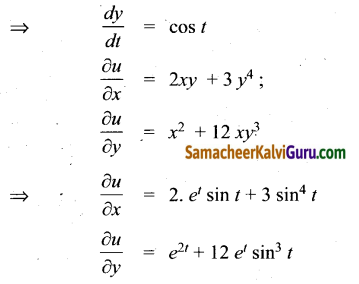 Samacheer Kalvi 12th Maths Guide Chapter 8 வகையீடுகள் மற்றும் பகுதி வகைக்கெழுக்கள் Ex 8.6 1