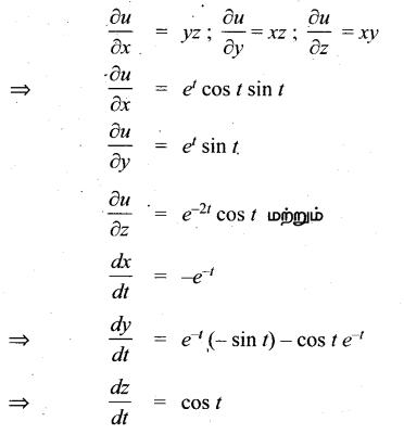 Samacheer Kalvi 12th Maths Guide Chapter 8 வகையீடுகள் மற்றும் பகுதி வகைக்கெழுக்கள் Ex 8.6 4