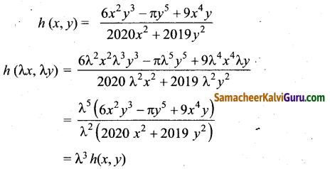 Samacheer Kalvi 12th Maths Guide Chapter 8 வகையீடுகள் மற்றும் பகுதி வகைக்கெழுக்கள் Ex 8.7 1