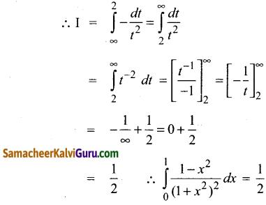Samacheer Kalvi 12th Maths Guide Chapter 9 தொகை நுண்கணிதத்தின் பயன்பாடுகள் Ex 9.3 11