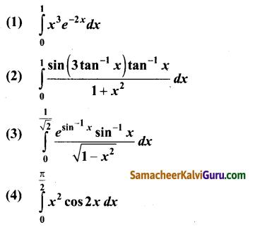 Samacheer Kalvi 12th Maths Guide Chapter 9 தொகை நுண்கணிதத்தின் பயன்பாடுகள் Ex 9.4 1