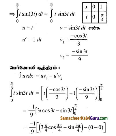 Samacheer Kalvi 12th Maths Guide Chapter 9 தொகை நுண்கணிதத்தின் பயன்பாடுகள் Ex 9.4 4