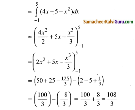 Samacheer Kalvi 12th Maths Guide Chapter 9 தொகை நுண்கணிதத்தின் பயன்பாடுகள் Ex 9.8 10