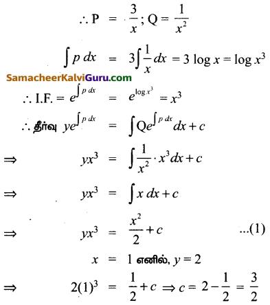 Samacheer Kalvi 12th Maths Guide Chapter Chapter 10 சாதாரண வகைக்கெழுச் சமன்பாடுகள் Ex 10.7 23
